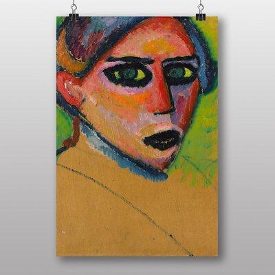 Big Box Art 'Womans Face' by Alexi Von Jawlensky Art Print