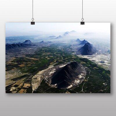 Big Box Art Afghanistan Aerial View Photographic Print