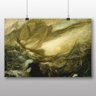Big Box Art 'Flying Dutchman' by Albert Pinkham Ryder Art Print