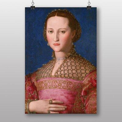 Big Box Art 'Eleanor of Toledo' by Agnolo Bronzino Art Print