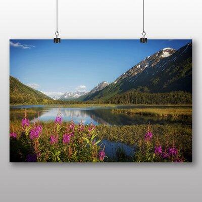 Big Box Art Alaska Lake USA Photographic Print Wrapped on Canvas