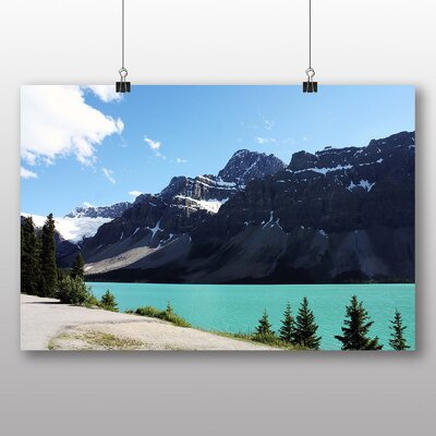 Big Box Art Alberta Banff National Park Canada No.4 Photographic Print Wrapped on Canvas