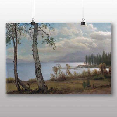 Big Box Art 'Summer Lake Landscape' by Albert Bierstadt Art Print