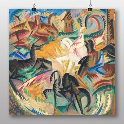 Big Box Art 'Horses' by Alice Bailly Art Print