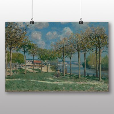 Big Box Art 'View of Marly from Coeur Volant' by Alfred Sisley Art Print
