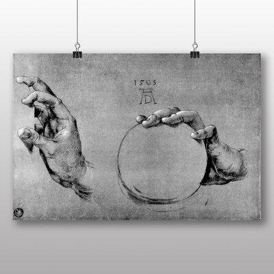 Big Box Art 'Hand of God the Father' by Albrecht Durer Art Print