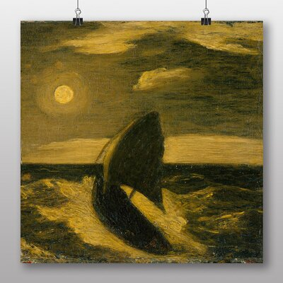 Big Box Art 'Boat at Sea' by Albert Pinkham Ryder Art Print