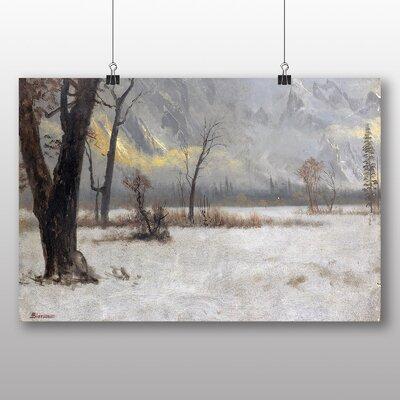 Big Box Art 'Winter Scene No.2' by Albert Bierstadt Art Print