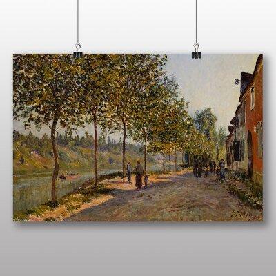 Big Box Art 'June Morning' by Alfred Sisley Art Print