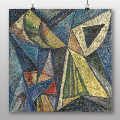 Big Box Art 'Composition with a Black Triangle' by Alexander Bogomazov Art Print