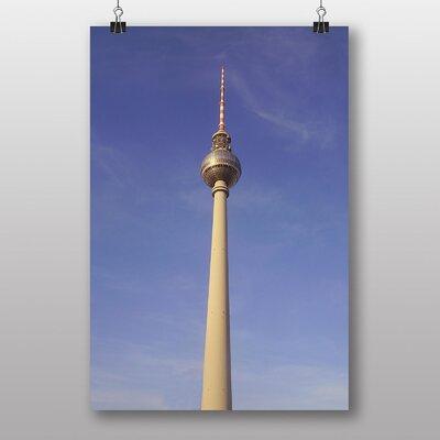 Big Box Art 'Alexanderplatz Berlin Building' Photographic Print