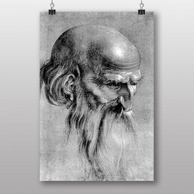 Big Box Art 'Head of an Apostle' by Albrecht Durer Art Print