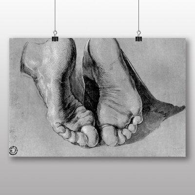 Big Box Art 'Feet of an Apostle' by Albrecht Durer Art Print
