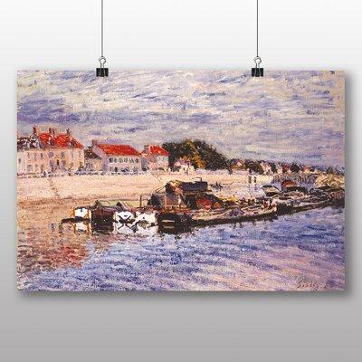Big Box Art 'Barges' by Alfred Sisley Art Print