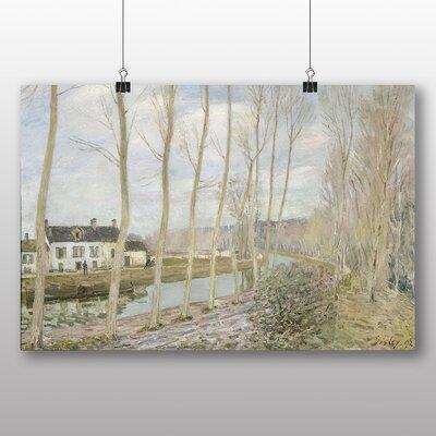 Big Box Art 'The Loings Canal' by Alfred Sisley Art Print