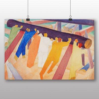 Big Box Art 'Log Rolling' by Alexander Bogomazov Art Print
