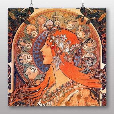 Big Box Art 'Zodiac' by Alphonse Mucha Art Print