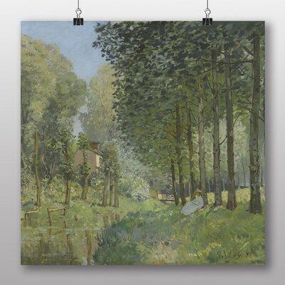 Big Box Art 'Rest along the Stream' by Alfred Sisley Art Print