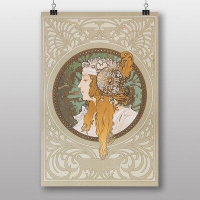 Big Box Art 'Byzantine' by Alphonse Mucha Art Print