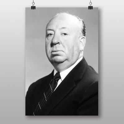 Big Box Art Alfred Hitchcock Photographic Print on Canvas