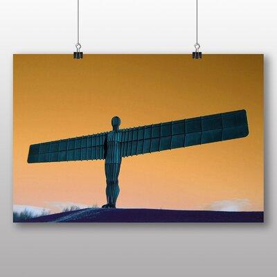 Big Box Art Angel of the North Newcastle No.3 Graphic Art on Canvas
