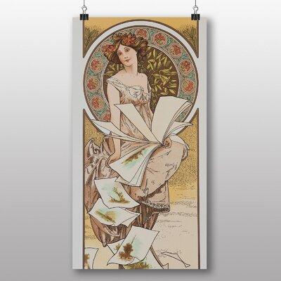 Big Box Art 'Piece No.3' by Alphonse Mucha Art Print