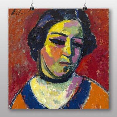 Big Box Art 'Portrait of a Woman' by Alexi Von Jawlensky Art Print
