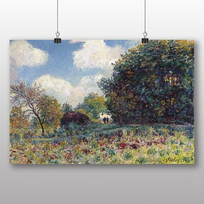 Big Box Art 'Landscape No.6' by Alfred Sisley Art Print