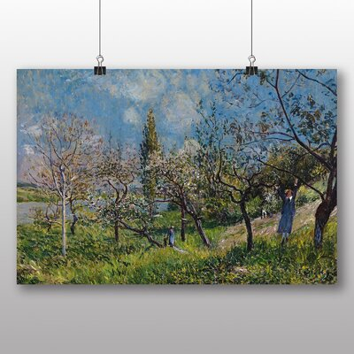 Big Box Art 'Orchard in Spring' by Alfred Sisley Art Print