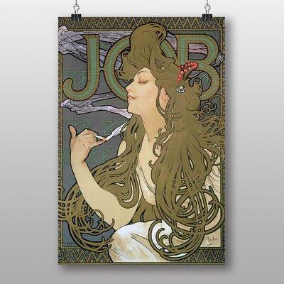 Big Box Art Job by Alphonse Mucha Art Print