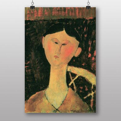 Big Box Art Bildnis Beatrice Hastings by Amedeo Modigliani Art Print