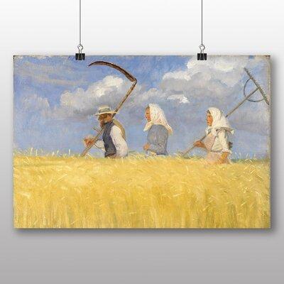 Big Box Art 'Harvesters' by Anna Ancher Art Print