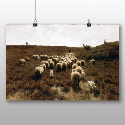 Big Box Art 'The Return of the Flock' by Anton Mauve Art Print