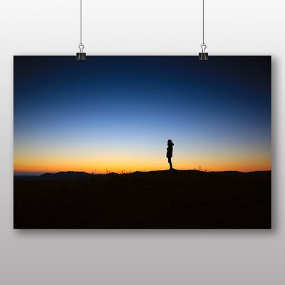Big Box Art 'Alone at Dusk' Photographic Print