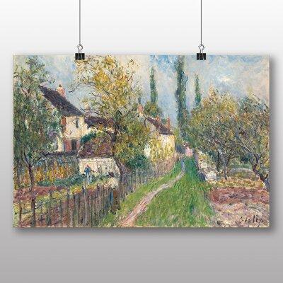 Big Box Art 'A Pathe at Les Sablons' by Alfred Sisley Art Print