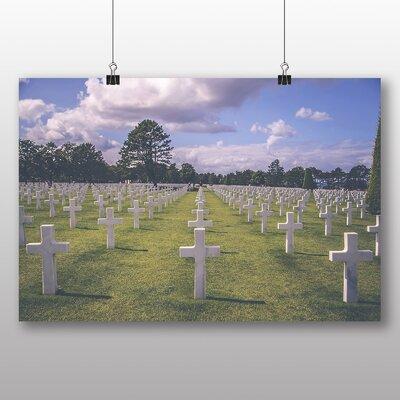 Big Box Art American Cemetery Normandy France Photographic Print
