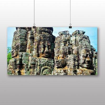 Big Box Art Angor Kat Cambodia Monument No.3 Photographic Print Wrapped on Canvas
