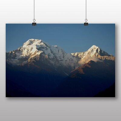 Big Box Art Annapurna Mountain Photographic Print
