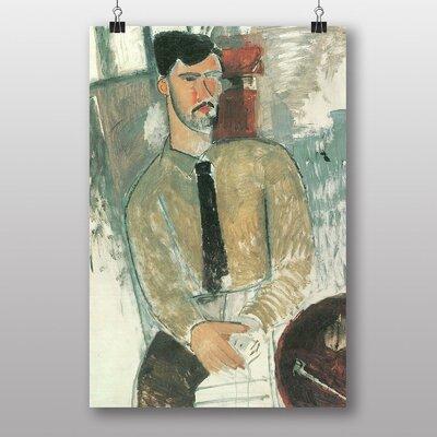 "Big Box Art ""Bildnis Henri Laurens"" by Amedeo Modigliani Art Print"
