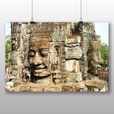 Big Box Art Angkor Wat Cambodia Monument Photographic Print
