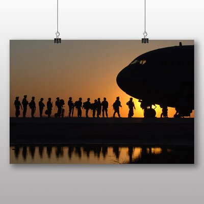 Big Box Art Army Military Soldiers Photographic Print on Canvas