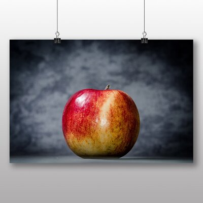Big Box Art Apple No.2 Photographic Print on Canvas