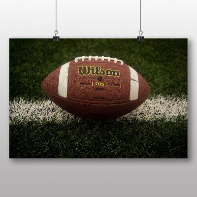 Big Box Art 'American Football' Photographic Print