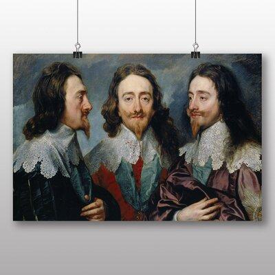 Big Box Art 'Charles I' by Anthony Van Dyck Art Print
