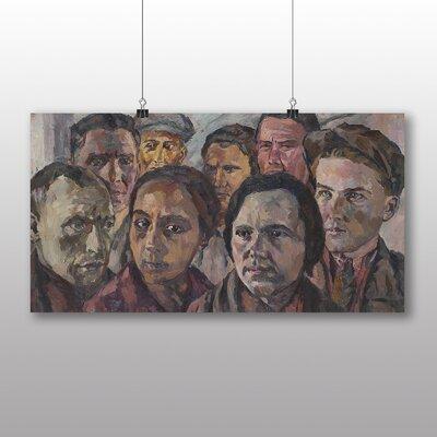 "Big Box Art ""Faces of a Generation"" by Aristarkh Lentulov Art Print on Canvas"