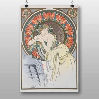 Big Box Art No.1 by Alphonse Mucha Graphic Art