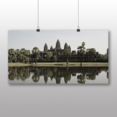 Big Box Art Angkor Wat Temple Cambodia Photographic Print Wrapped on Canvas