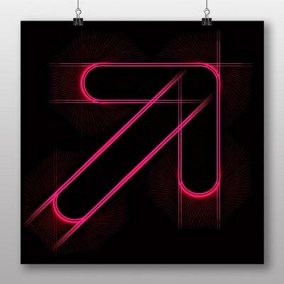 Big Box Art Arrow Abstract Art No.2 Graphic Art