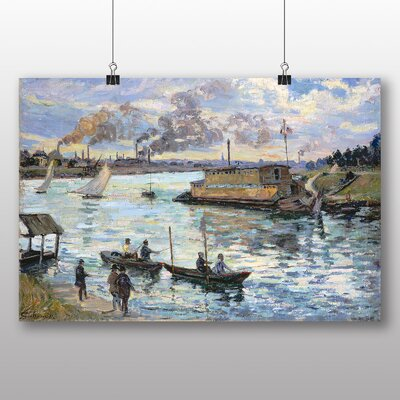 Big Box Art 'River Scene' by Armand Guillaumin Art Print