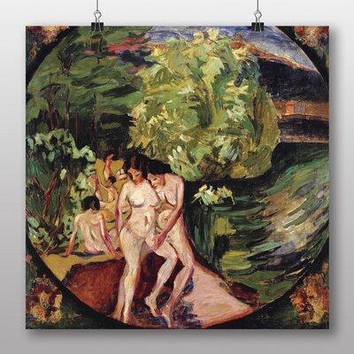 "Big Box Art ""Bathers"" by Aristarkh Lentulov Art Print on Canvas"